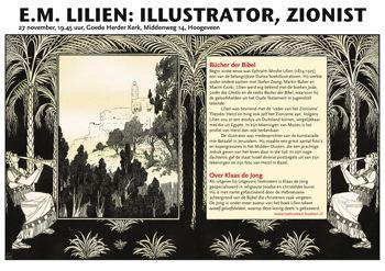 klein_Poster GNI Hoogeveen lezing over Lilien