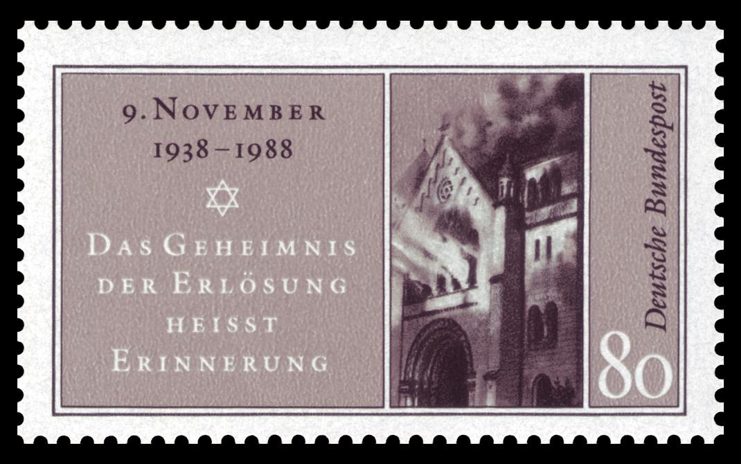 DBP_1988_1389_Reichskristallnacht