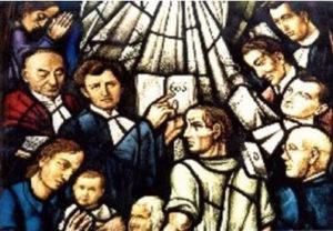 Herdenking ds Van den Bosch Duinzichtkerk
