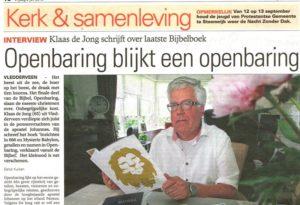 Interview Steenwijker Courant