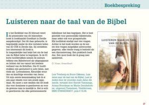 Recensie Kerkblad vh Noorden 3 maart 2016