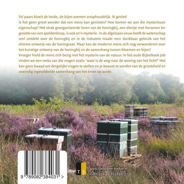 Het mysterie van de honingbij - Klaas de Jong - achterkant