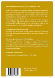Kristallnacht en Kamp Westerbork - achterkant