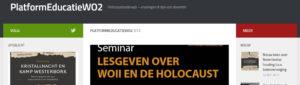 Aanbeveling Holocausteducatie