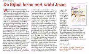Kerkblad vh Noorden over Bijbel lezen met rabbi Jezus