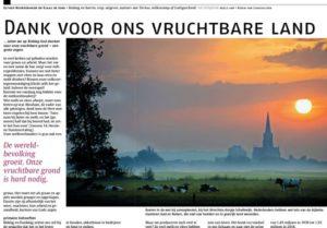 Opinie in Nederlands Dagblad over Biddag