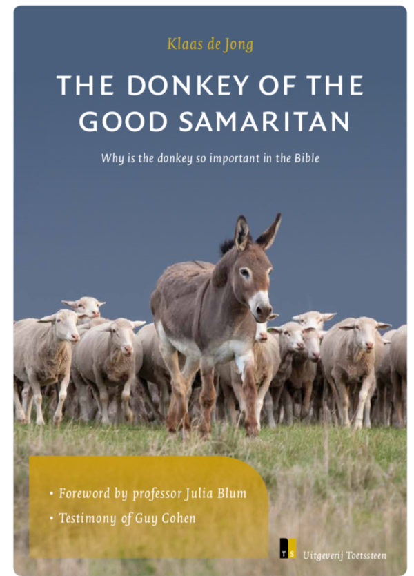 Be a donkey for the Good Samaritan - front